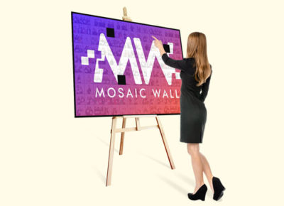 Mosaic Wall Evenimente private si corporate pentru photo booth